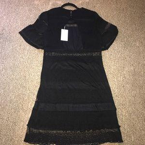 FoxieDox Dresses - Foxiedox  Black Angelique Illusion Dress